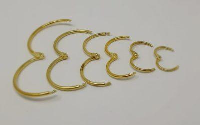 Comment ouvrir facilement un anneau à charnière métal ?