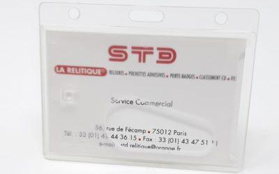 Le porte-carte rigide de sécurité arrive dans notre gamme !